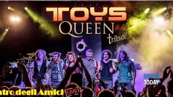 Concerto tributo ai Queen con i Toys Planet Rock