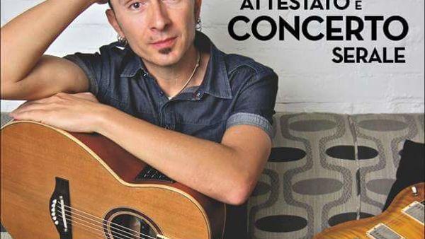Il chitarrista Massimo Varini in concerto a Morciano di Romagna