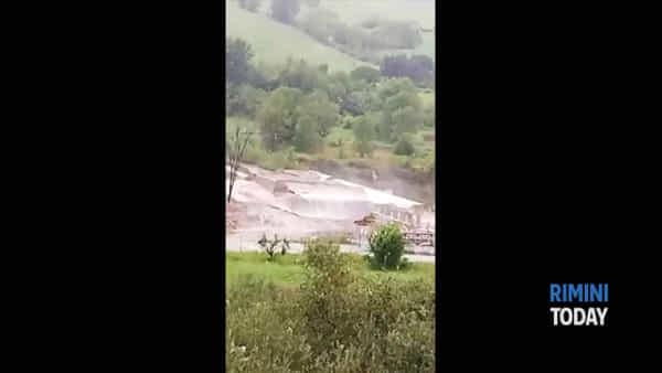 L'ondata di maltempo sul riminese nei filmati del web | IL VIDEO