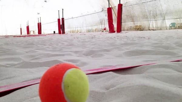 Beach tennis day a Riccione