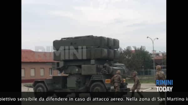 La contraerea del 121° Reggimento in azione   IL VIDEO