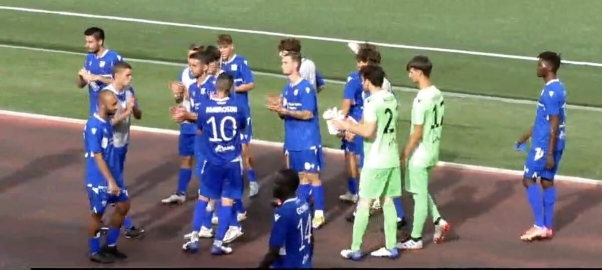 Calcio, il Rimini pareggia 2-2 a Cattolica ma strappa ugualmente il pass per i playoff