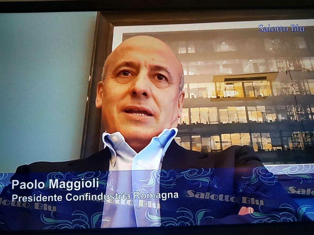 """Maggioli (Confindustria) a Salotto blu: """"Dopo la pandemia investimenti per innovazione, ambiente e salute"""""""