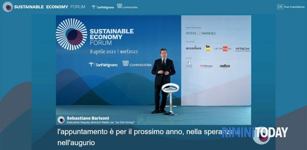 "Sustainable Economy Forum, Jeffrey Sachs: ""L'Italia indirizzi l'economia mondiale sul sentiero giusto"""