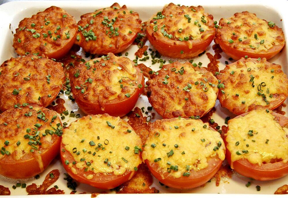 Ricetta estiva, pomodori gratinati alla romagnola