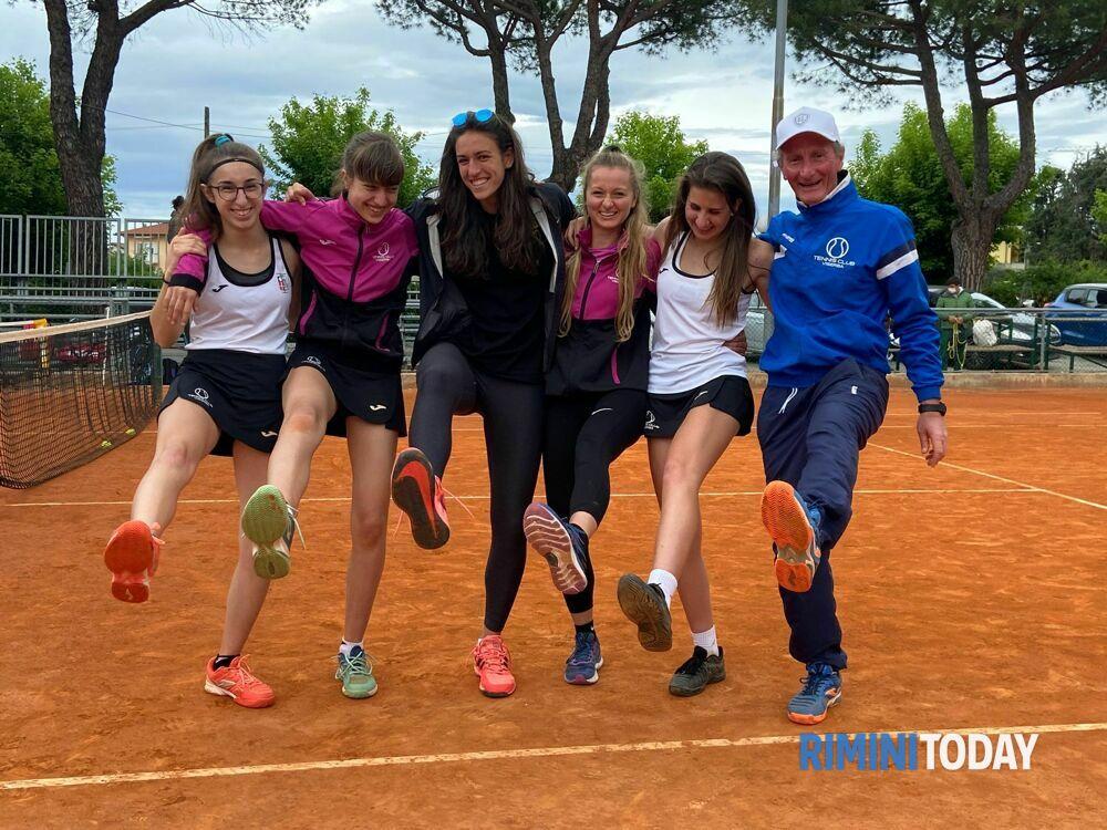 Il Tennis Club Viserba pareggia 2-2 sui campi del Villa Carpena