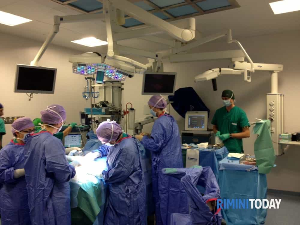 All'Ospedale Infermi di Rimini effettuato il primo prelievo multiorgano a cuore fermo