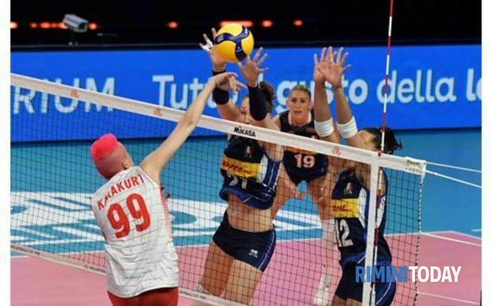 Nations League a Rimini, le azzurre vanno ko contro la Turchia