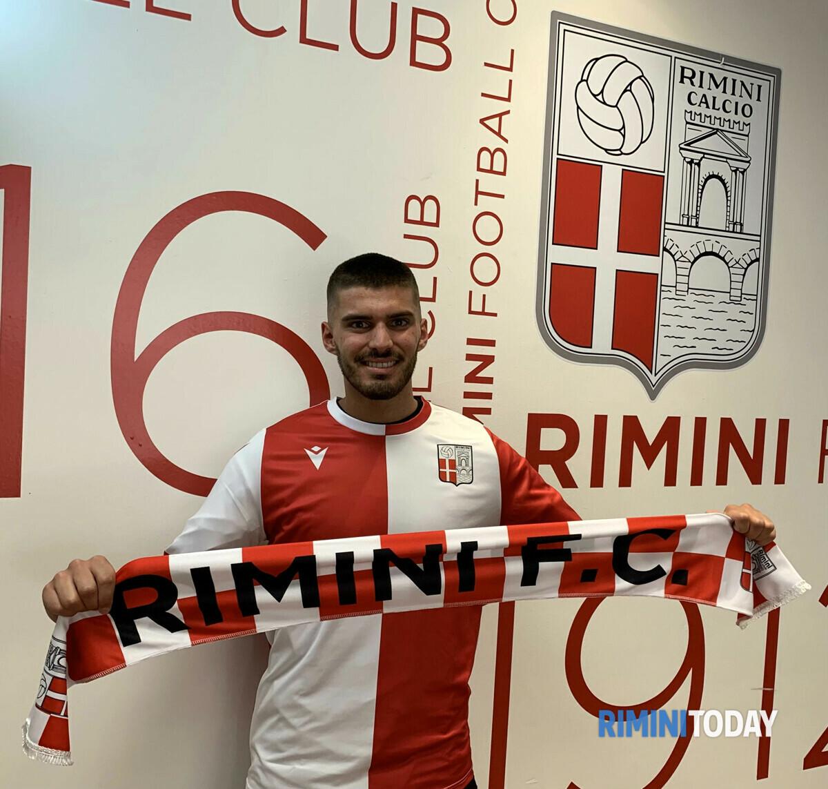 Federico Cuccato è il nuovo difensore centrale del Rimini Calcio