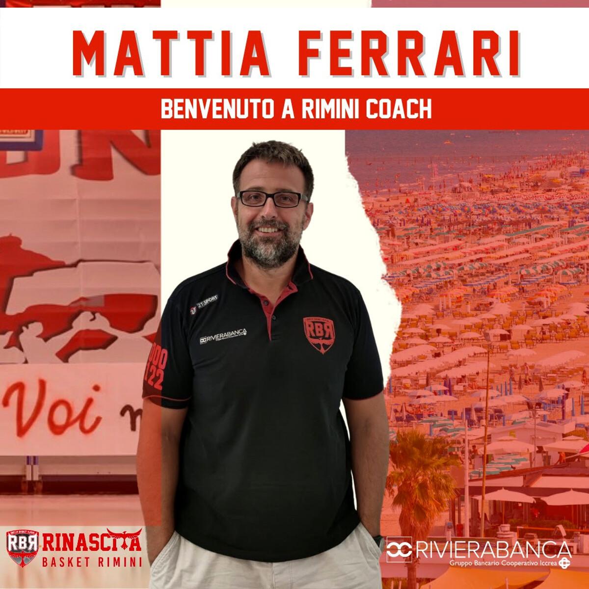 Rinascita, dalla Serie A2 arriva il nuovo capo allenatore: ecco Mattia Ferrari