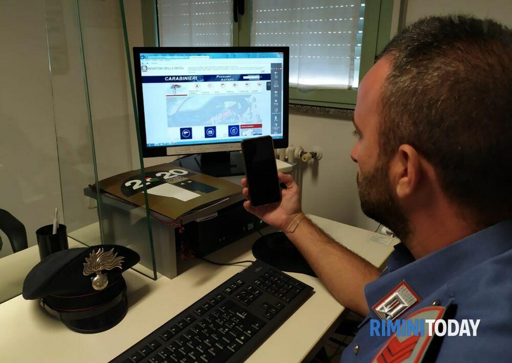 Incassa i soldi della vendita on line e sparisce, truffatore individuato dai carabinieri