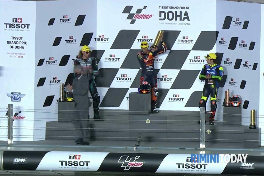 Moto3, Antonelli agguanta il podio dopo una strenua lotta con Migno