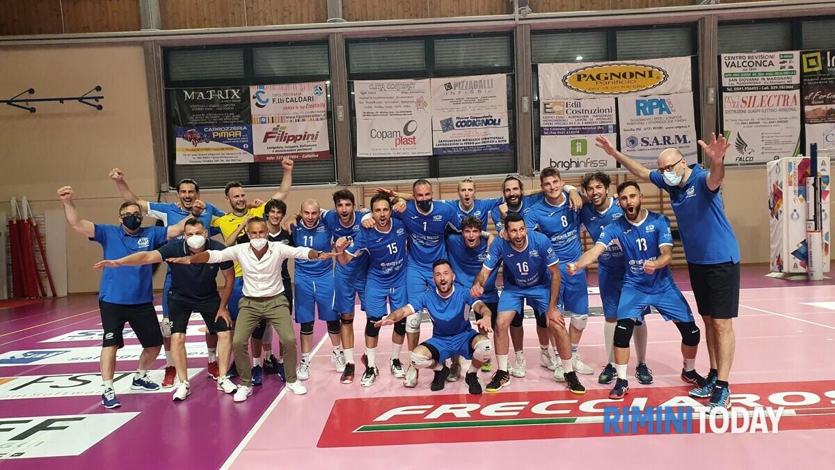 La Ventil System di San Giovanni in Marignano vola in finale per la promozione in Serie B