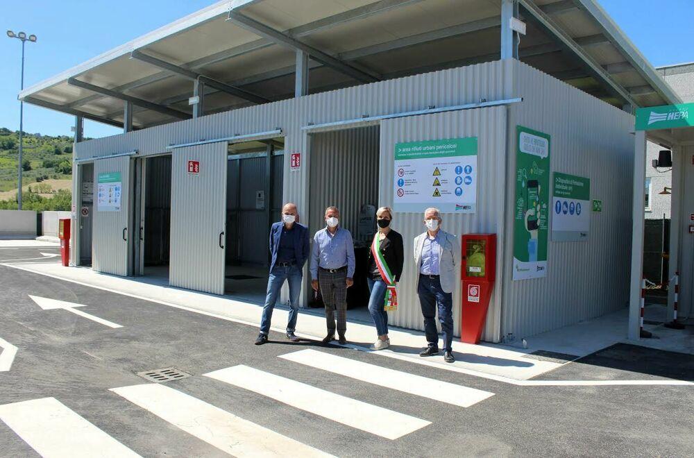 A San Clemente riapre la stazione ecologica: gli interventi e i servizi