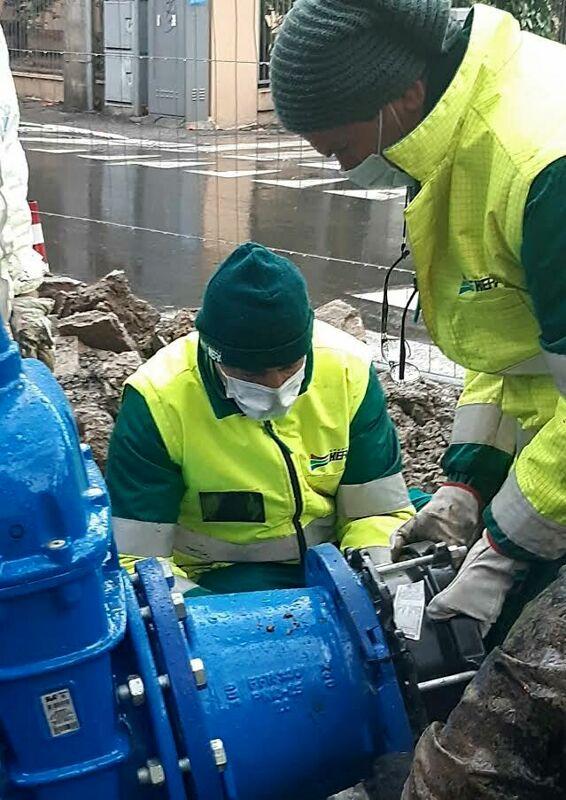 A Novafeltria lavori alla rete idrica e stop al servizio per alcune ore