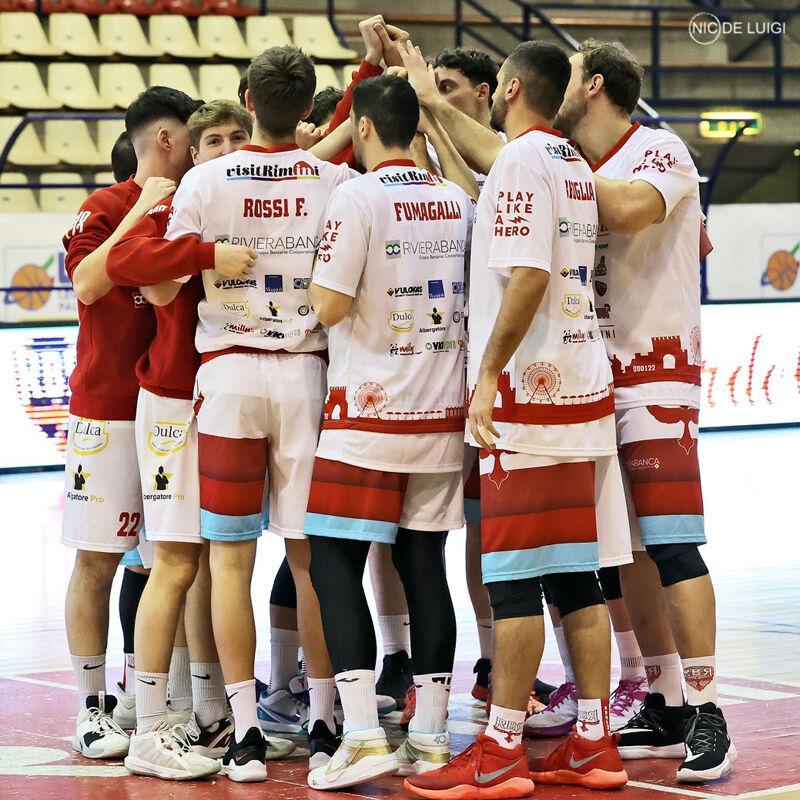 Riviera Banca rinuncia ai playoff e finisce anzitempo la stagione: troppi casi di Covid