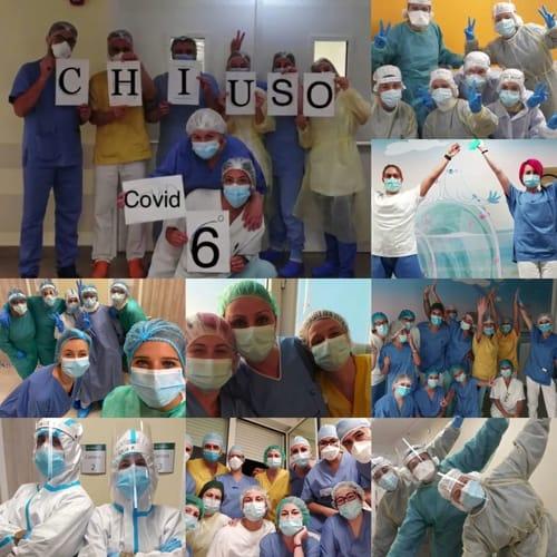 coronavirus -ospedale infermi - reparto 6 - foto fb bonaccini-3