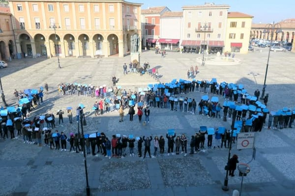 studenti - manifestazione contro cyberbullismo - odio in rete-2