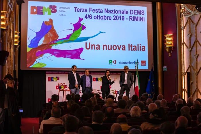 Dems a Rimini, il primo giorno (4-10-2019)