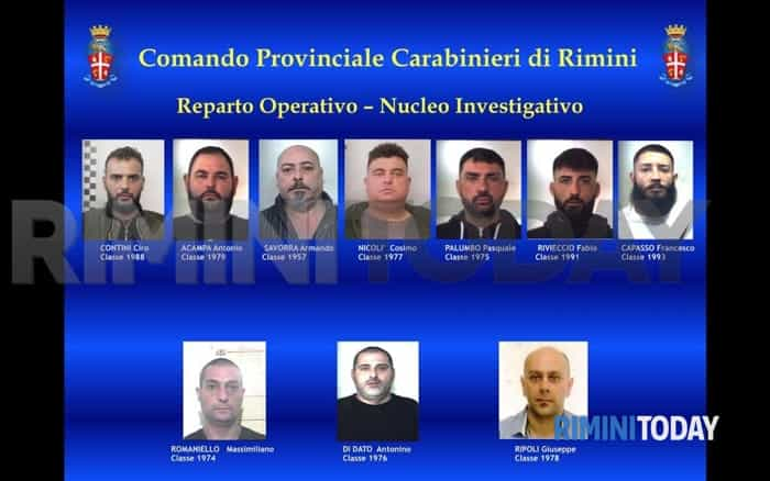 operazione hammer carabinieri rimini arresti foto - 030