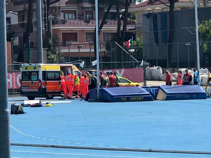 incidente - riccione - campo sportivo -2
